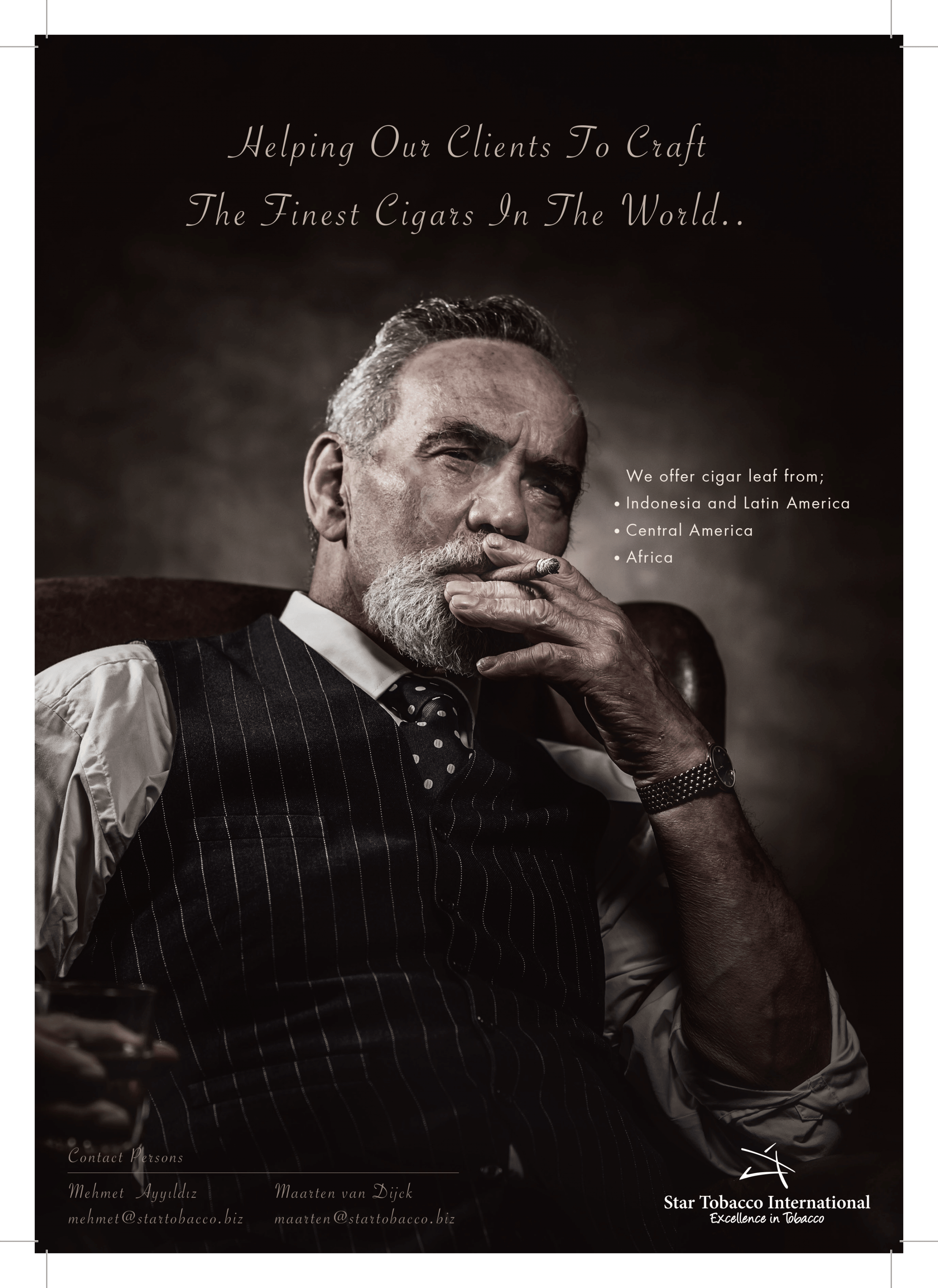cigar leaf advertorial
